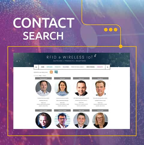 RFID & Wireless IoT contact search