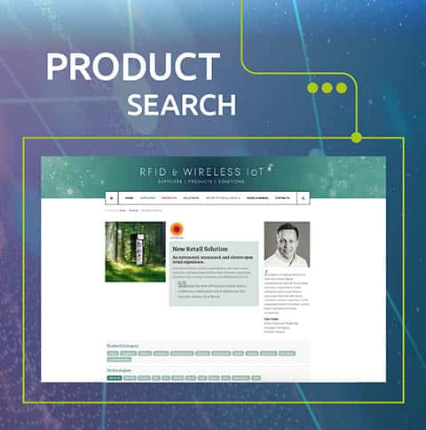 RFID & Wireless IoT product search