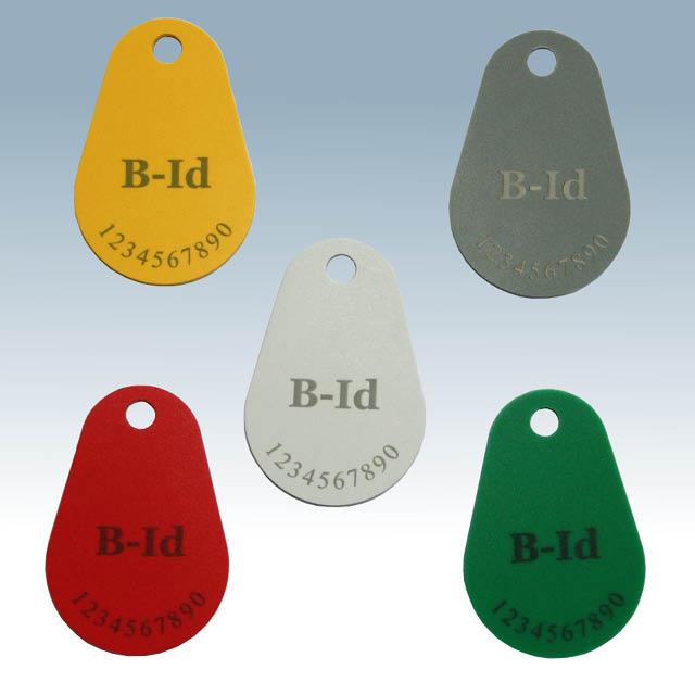 Key Fob Transponder KF11 PVC