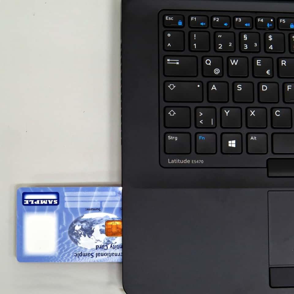 Thales PKI Card