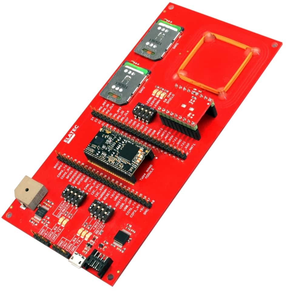 Development Board for TWN4 MultiTech Nano