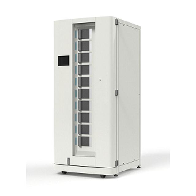 White C - Ausgabeautomat für gefaltete OP-Wäsche