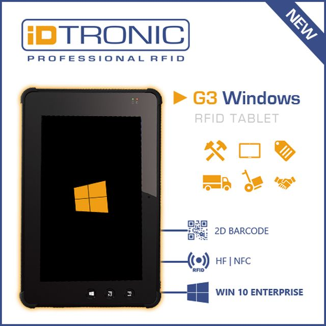 G3 RFID Tablets