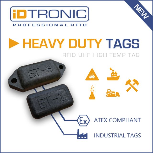 Heavy Duty RFID-Tags
