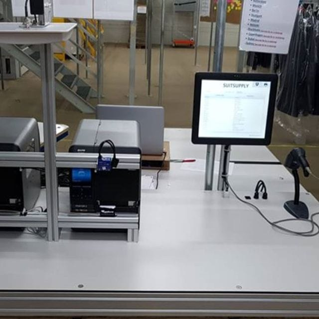 RFID Packing Table