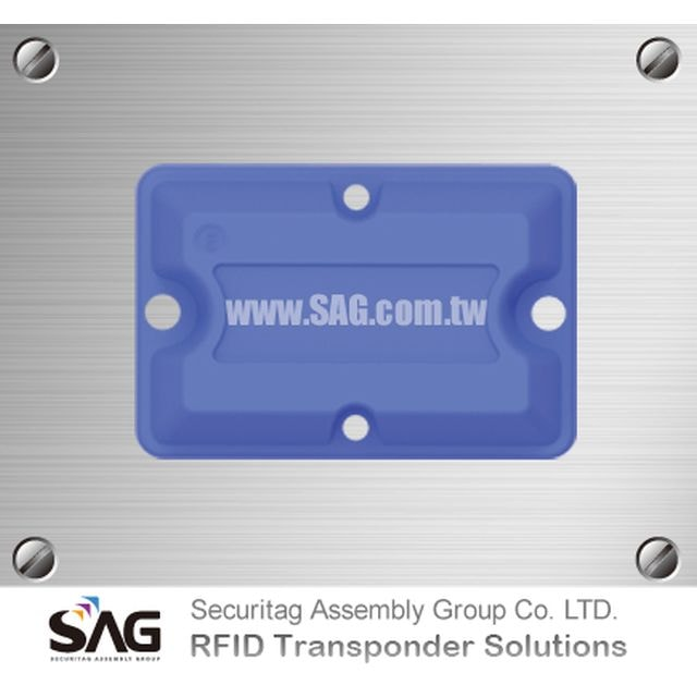 RAIN RFID Overmolded Brick Metal Tag-S
