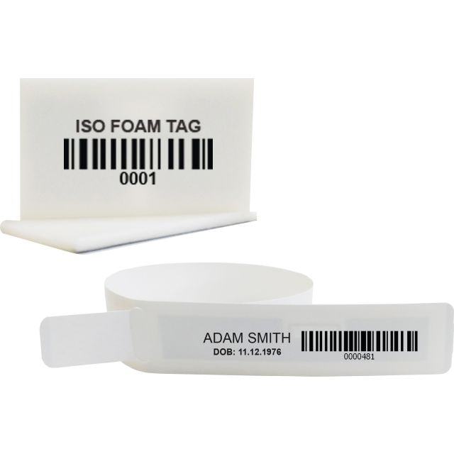 RAIN RFID Pat-Track Wristband and ISO Foam Tag