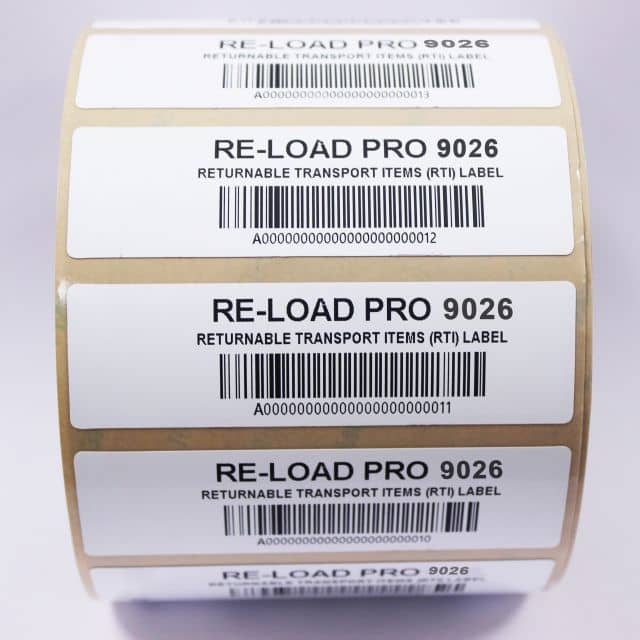 Re-Load Pro: Washable RFID Labels for RTIs