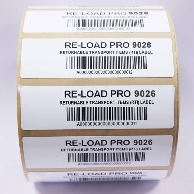 Re-Load Pro: Abwaschbare RFID-Etiketten für RTIs