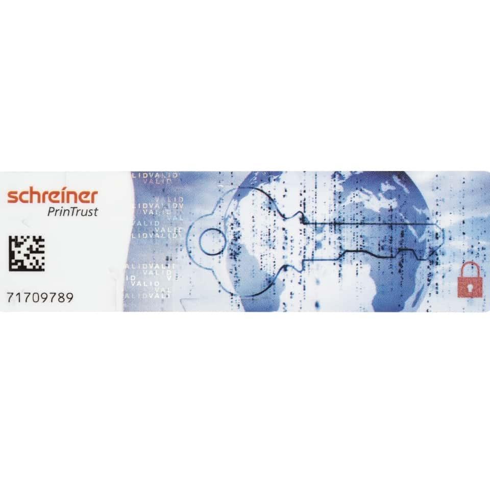 ((rfid))-Windshield Label Global Secure