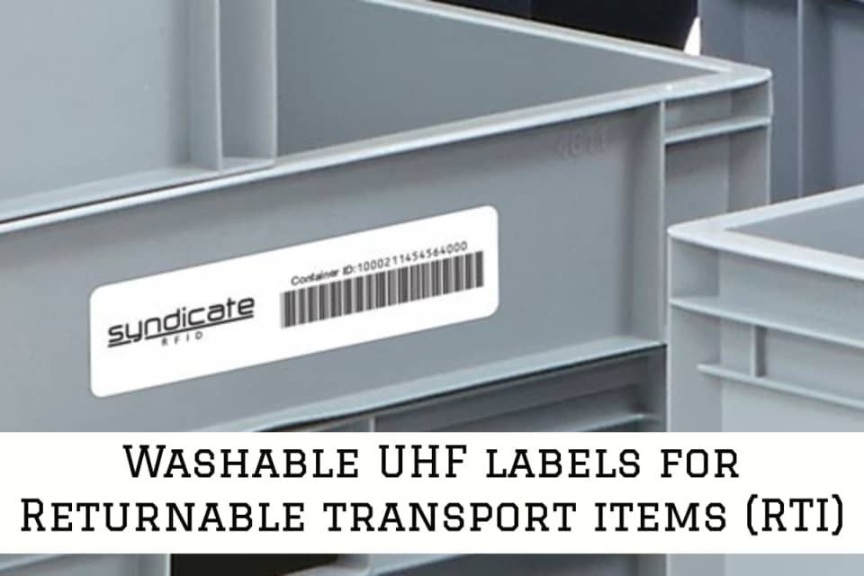 UHF Label Re-Load Pro Series