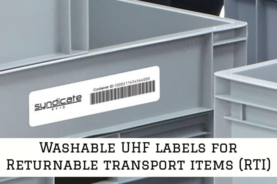 UHF Label Re-Load Pro Series