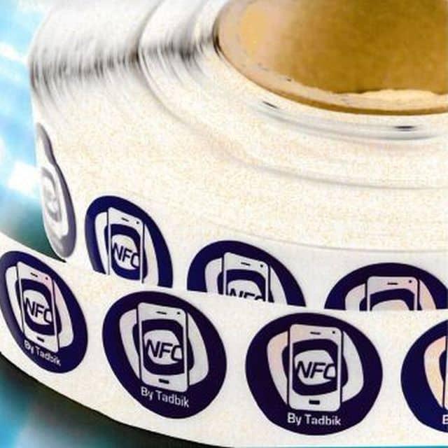 NFC StickNTap Label