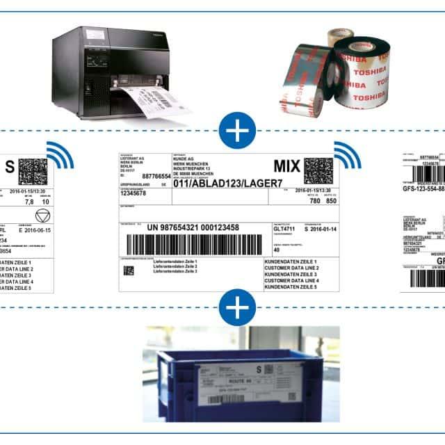 VDA 4994 RFID-Printlösung