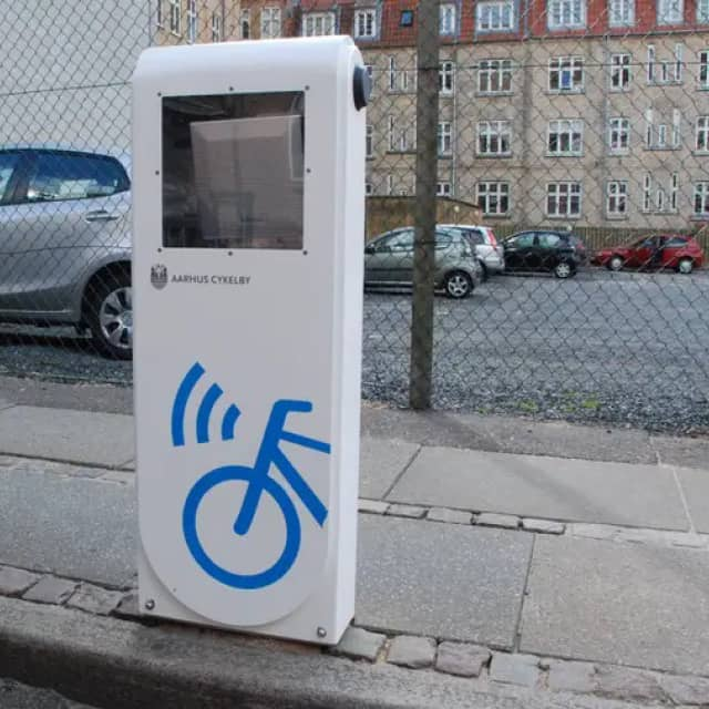 Cycling: Aarhus Uses RFID for Traffic Control