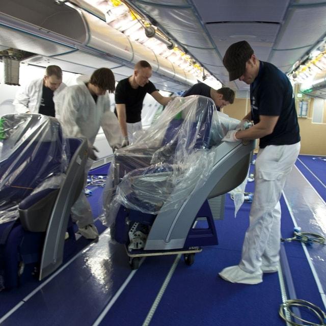 Airbus optimiert Kabinen-Innenausbau mit RFID
