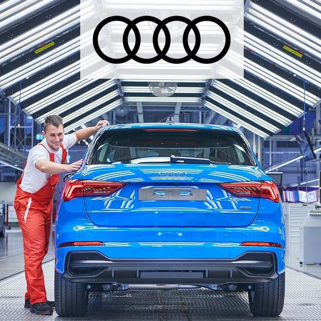 Fahrzeugverfolgung bei Audi mit UHF-RFID
