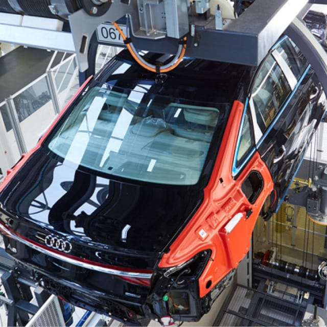 UHF RFID in the Production of the Audi A8