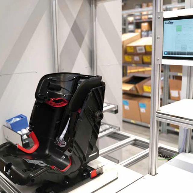 Child Car Seat Production at Britax Römer Optimized with RFID