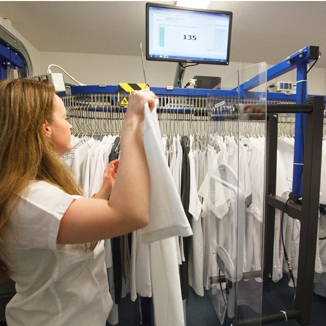 Mitarbeiterwäschemenge um 50% reduziert