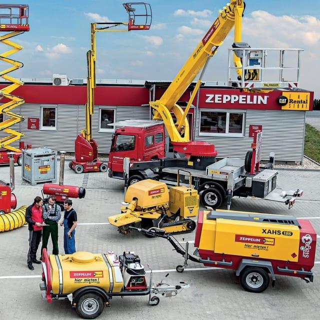 Zeppelin Rental Counts on Active RFID