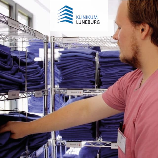 Clothing Distribution at Klinikum Lüneburg with UHF RFID