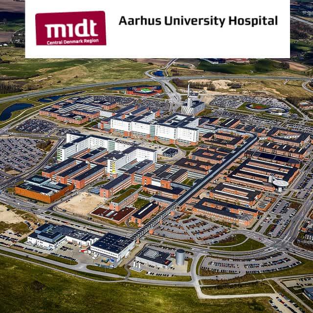 Kommissionierroboter in der Krankenhausapotheke in Aarhus