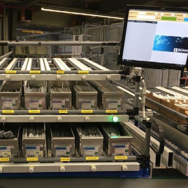 Losgröße-1-Fensterfertigung bei Velux mit RFID