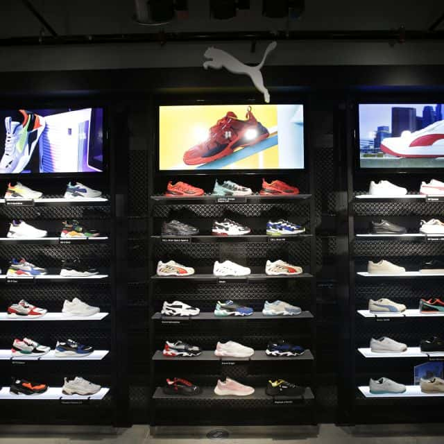 Retailer Puma Opens Interactive Experience Store