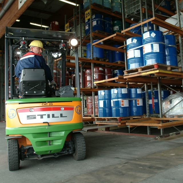 RFID-tagged Hazardous Goods Containers at Chemion