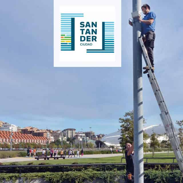 Sensors Control Smart City Applications in Santander