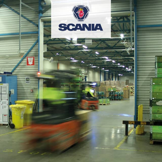 Spare Parts Logistics with RFID at Scania