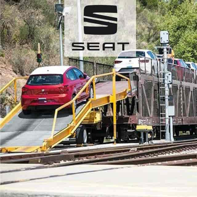 Seat Networks Outbound Logistics of New Vehicles with RFID