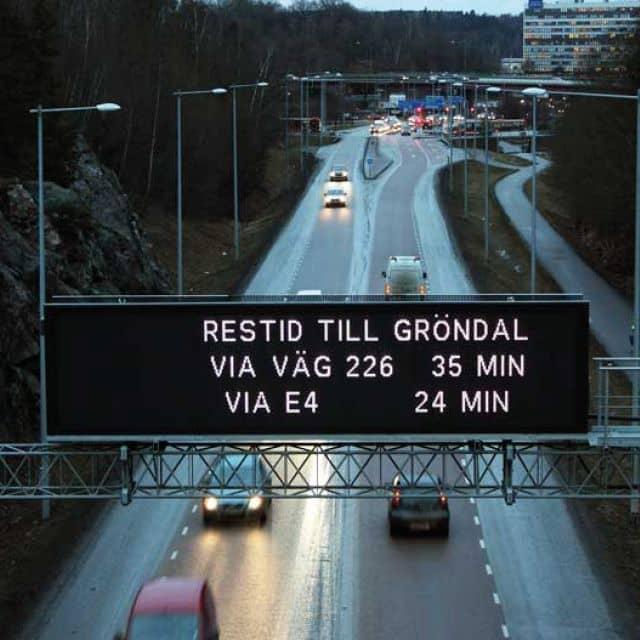 Sensor-Based Solution for Traffic Jam Prevention in Stockholm