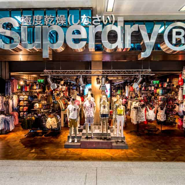 RFID Rollout in Over 200 Stores at Superdry
