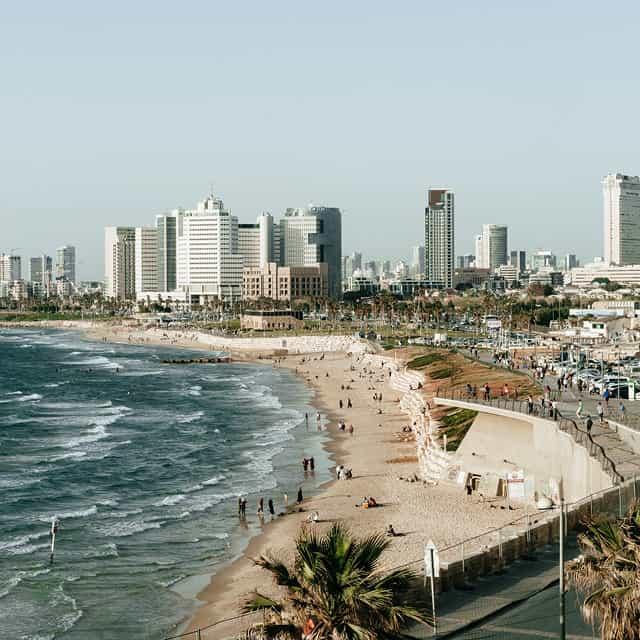 Datenportal für Smart-City-Anwendungen in Tel Aviv-Jaffa