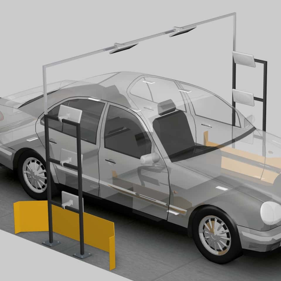 Leakage Testing in Automobile Production