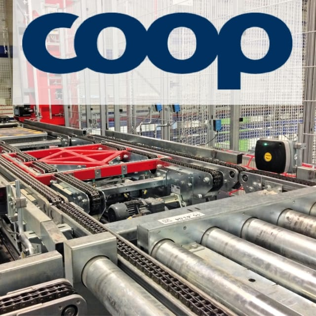 Warehouse Management with UHF-RFID at Coop Norge
