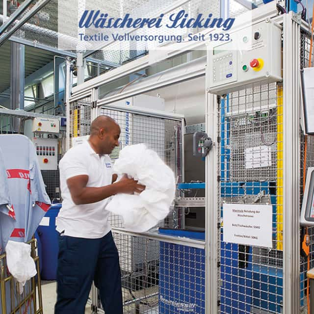 Workwear: UHF RFID in Laundry Companies