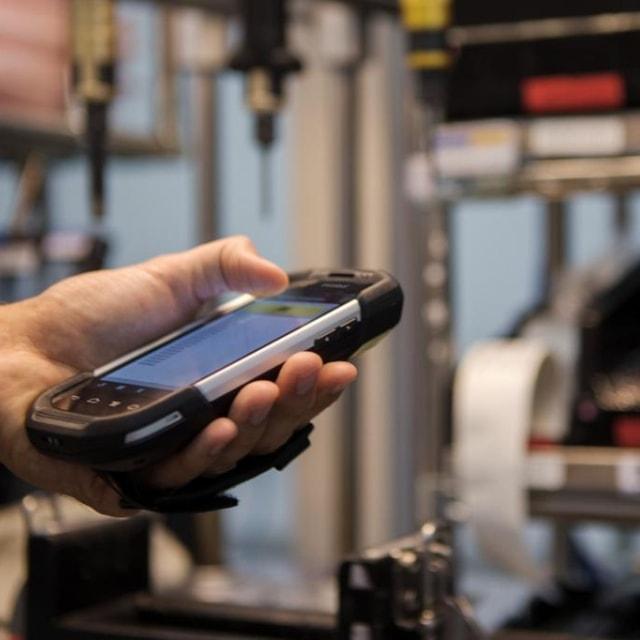 Mobilcomputer für Bestände und Services bei Globus