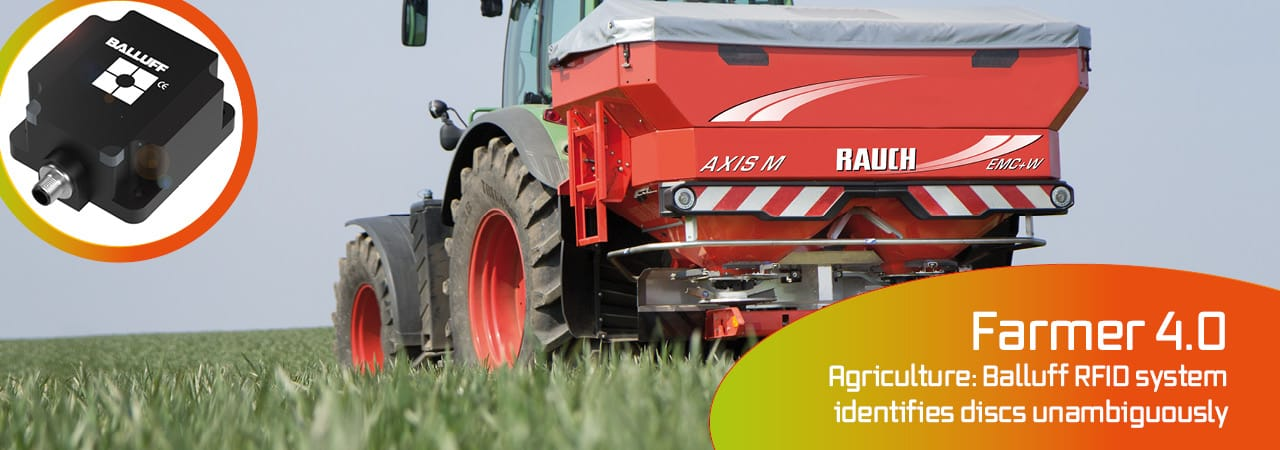 Farmer 4.0: RFID prevents mistakes and incorrect spread rates