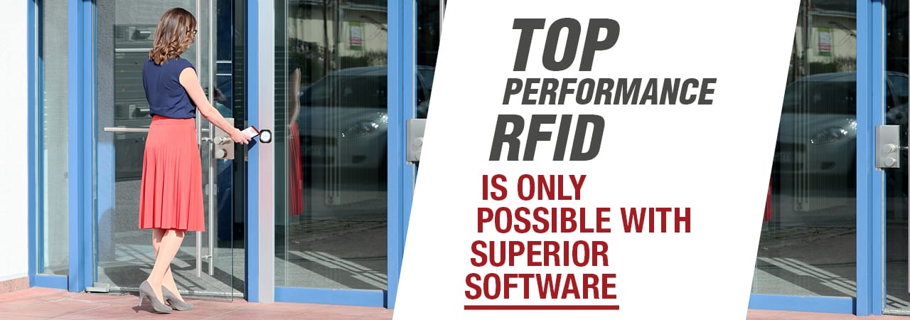 Top Performance RFID is Only Possible with Superior Software