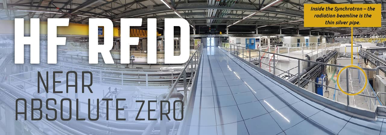 HF RFID Near Absolute Zero at EMBL