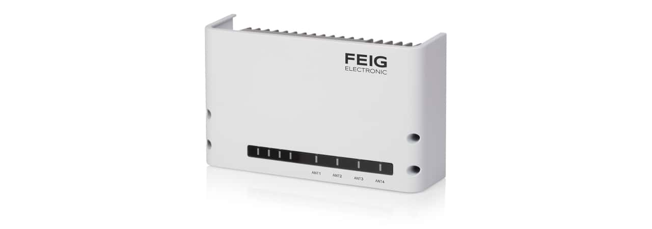 The Feig RFID reader portfolio, including the UHF RFID LRU1002 unit, supports solutions for healthcare and asset management. (Picture: FEIG)