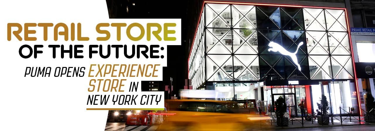 Retail Store of the Future: Puma opens Experience Store