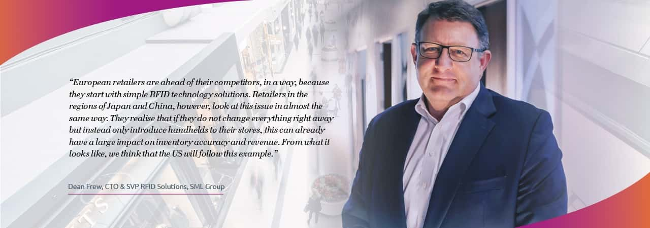 Dean Frew, CTO & SVP RFID Solutions, SML Group