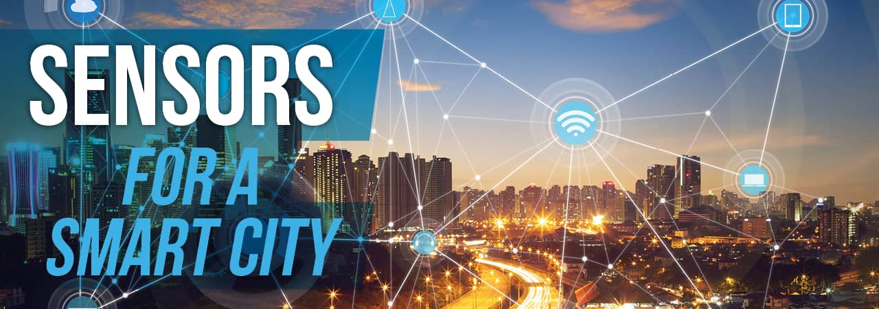 Sensors for a Smart City. Source: RFID & Wireless IoT Global
