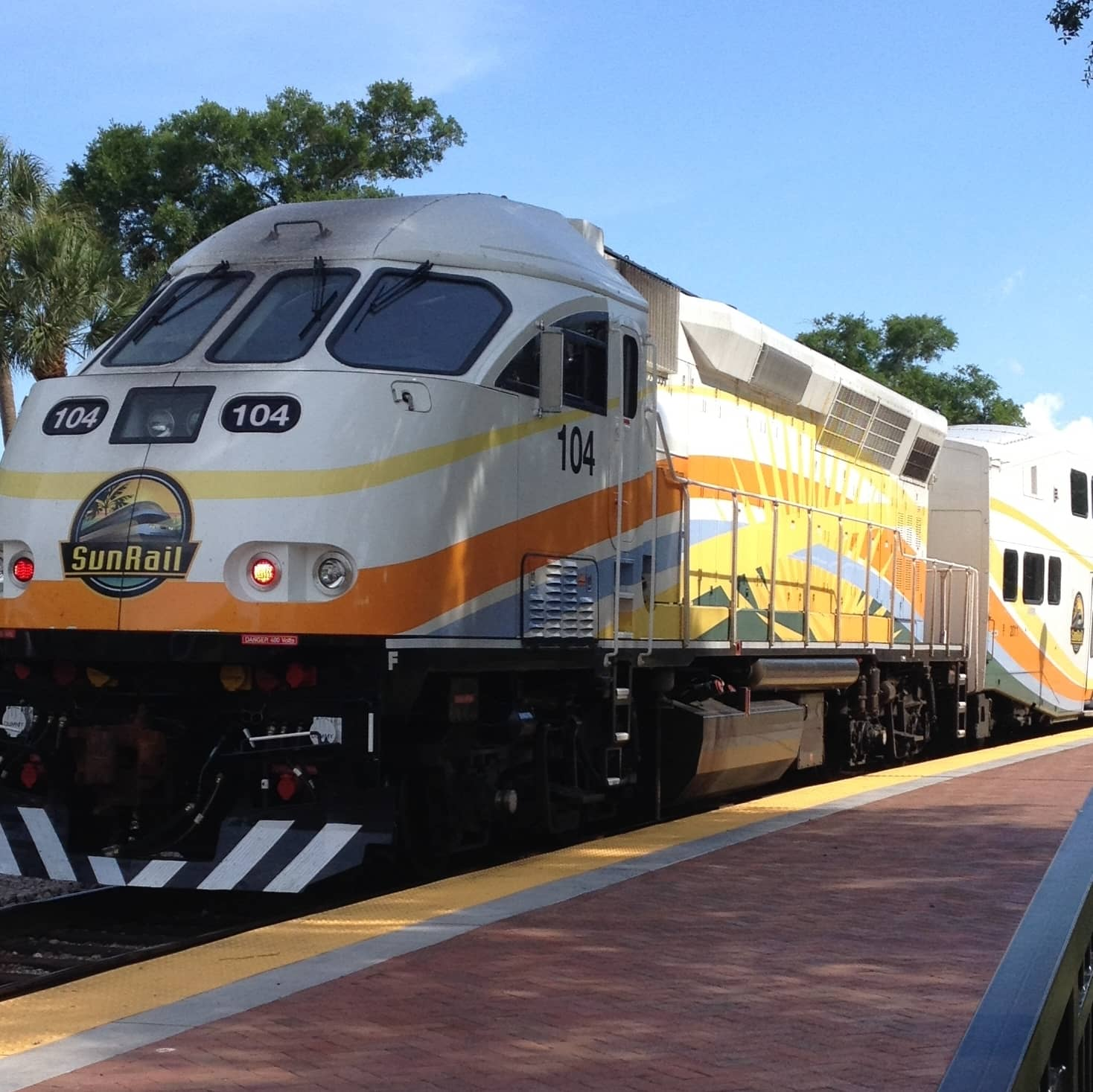 Sunrail Orlando - One million RFID tickets per year (Picture: wikipedia))