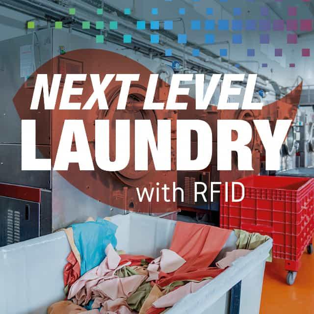 Next Level Laundry with RFID