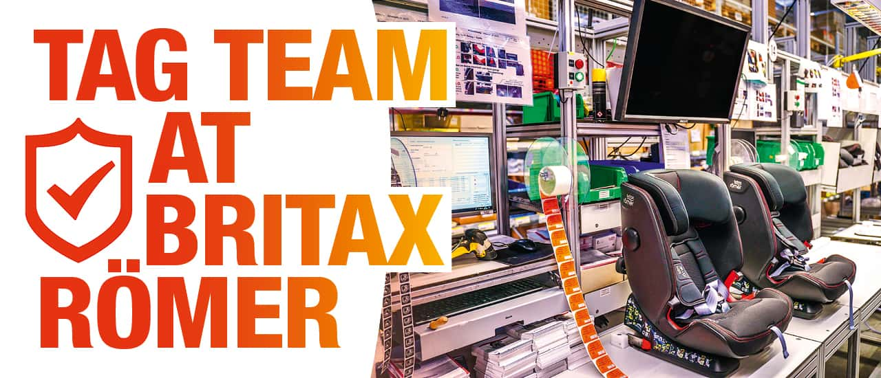 Tag Team at Britax Römer – Kirschenhofer Maschinen Developed a Production Control and Quality Assurance System for Britax Römer using Turck's RFID Tags and TBN- S-Ethernet Multiprotocol Modules in Conjunction With Labview – Entirely Without the Need for a PLC.